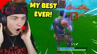 this is my best trickshot on fortnite i've ever hit... (you'll be shocked)