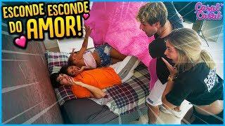 CASAL VS CASAL: ESCONDE ESCONDE COM AMOR!! [ REZENDE EVIL ]