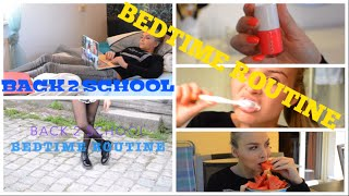BACK 2 SCHOOL BEDTIME ROUTINE// Patrizia