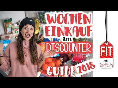 Fitness EINKAUF im Discounter - Iss dich schlank - DAS musst du kaufen!