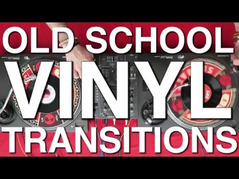 Old School Vinyl DJ Transitions