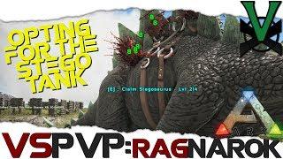 Opting For The New Stego Tank! | VsPVP: Ragnarok 'On | ARK: Survival Evolved | S2:EP14