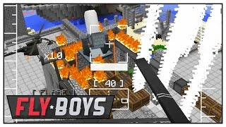 Minecraft Warfare - PHASE 3 BATTLE PART 2 - Minecraft Mods FlyBoys War Server - E75 | Pungence