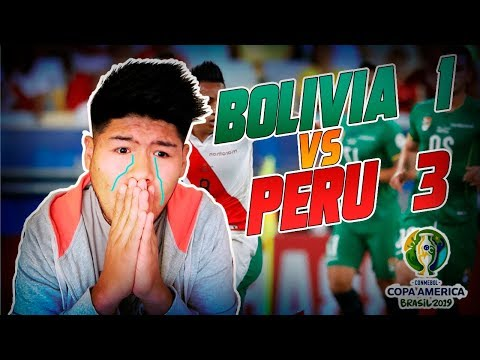 Perú DERROTA a BOLIVIA y la DEJA SIN COPA AMÉRICA 2019? | Vídeo reacción ft. TadeVlogs