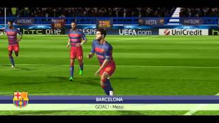 FTS 15 (BARCELONA VS REAL MADRID) FULL MATCH