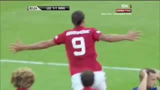 Manchester United vs Leicester City 2-1 Zlatan Ibrahimovic goal (07/08/2016)