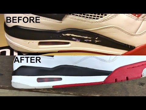 HOW TO PROPERLY REPAINT JORDAN AND SNEAKER MIDSOLES
