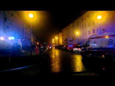 Akcja Ratunkowa Na Ul.Marii Gajl W Radomiu 28-02-2016r. HD