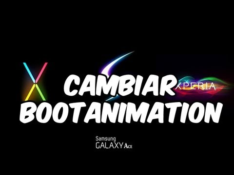 Cambiar Bootanimation + Pack para Android