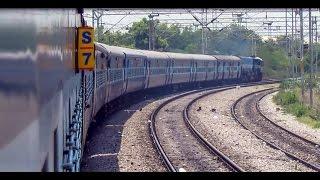 Hyderabad Guntur Sabari express journey compilation : Indian railways !!
