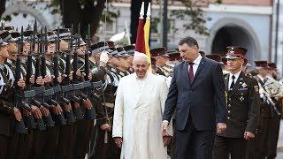 Latvia nồng nhiệt đón tiếp Đức Thánh Cha Phanxicô