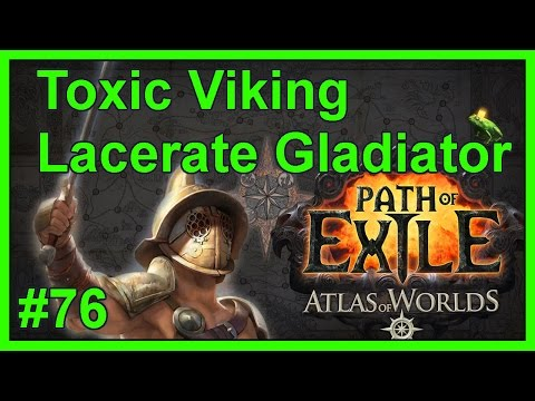 Atlas Map: Courtyard (T10) - #76 - Toxic Viking - Path of Exile: Atlas of Worlds (v2.4.1c)