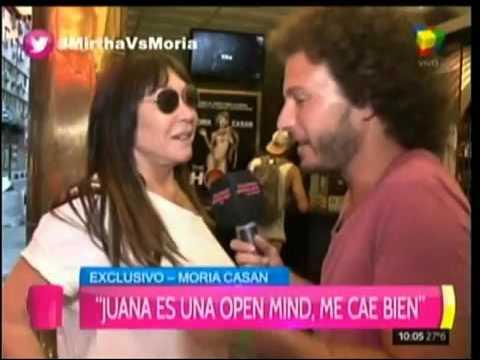 Pesqué a Juana dándose un beso de lengua con la uruguaya