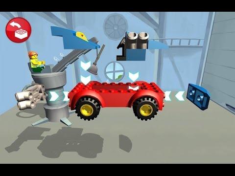 Мультики про машинки. ЛЕГО мультики - Полицейская машинка. Грузовик. LEGO Juniors.