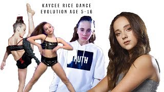 Kaycee Rice: Dance Evolution Age 5-16 *UPDATED*