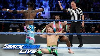 The New Day vs. The Hype Bros: SmackDown LIVE, Sept. 19, 2017