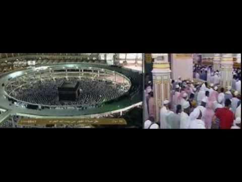 Solat Fajr Makkah Madinah video