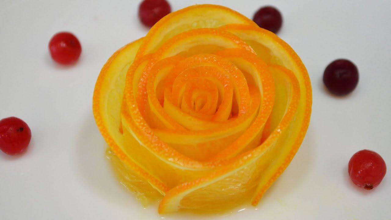 Как из кожуры яблок сделать розу