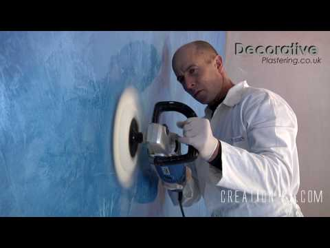 DECORATIVE PLASTERING - VENETIAN MARBLE POLISHED PLASTER