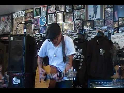 "Micah Schnabel ""Jackson, Don't You Worry"" Live in The Heavy Metal Shop 5/4/2010"