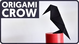 Origami Crow (Traditional Model)