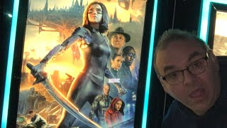 Krazy Joe saw 'Alita: Battle Angel'!