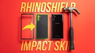 PERFECT Protective Combo?! - RhinoShield Impact Skin + CrashGuard NX for Samsung Note 10 - Review