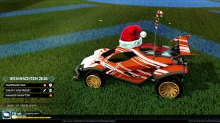 Alle Weihnachts Items in Rocket League | limited Christmas Items