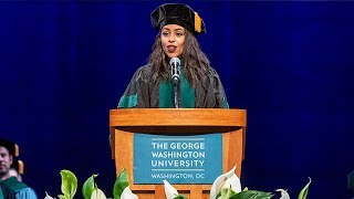 Ethiopia - Full Speech by Ethiopian Lillian Dawit, George Washington University's 2019 Valedictorian