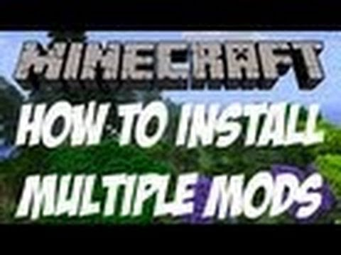 How to install Multiple Mods for Minecraft 1.7.5 (Mac)