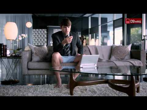 Lenovo Yoga Tablet  - 18 Hours commercial with Ashton Kutcher