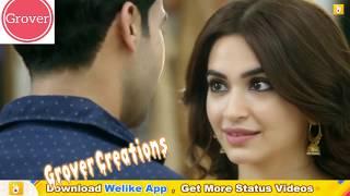 So sweet 💓New whatsapp status video 😍 love whatsapp status // Latest Romantic Hindi status 2018