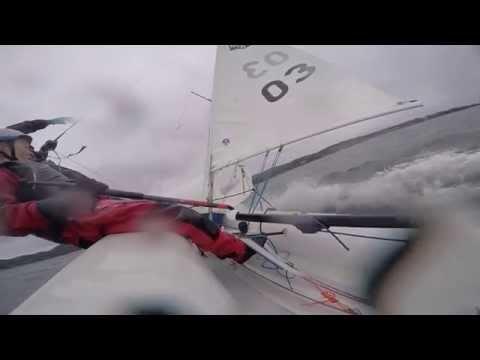 420 Sailing 20+knts