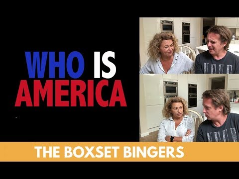 Who Is America (Sacha Baron Cohen) TV Series - Nadia Sawalha & Family Review