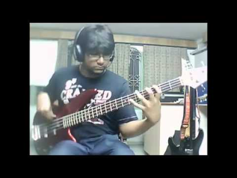Chasing the sun Motherjane- Bass cover
