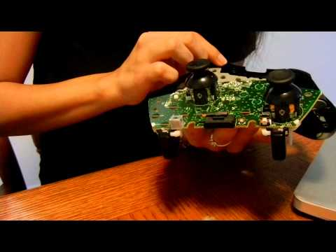 How to fix RB/LB button on XBOX controller