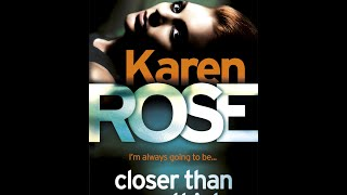 The official trailer for Karen Rose's CLOSER THAN YOU THINK - out now in paperback