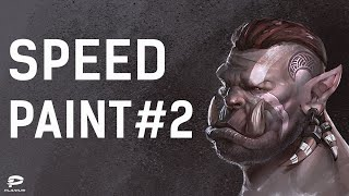 Video Tutorial №2 - Ork | Plarium Speed Paint