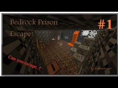 Проходим карту: Bedrock Prison Escape  #1