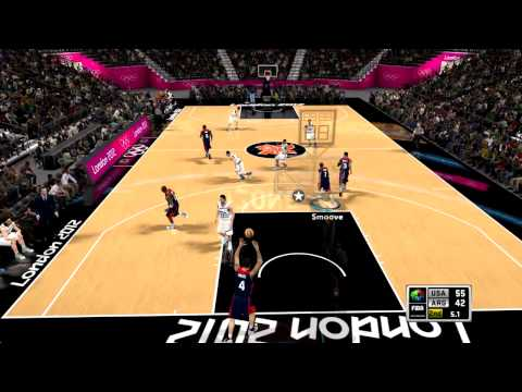FIBA 2K12 London Olympics - Meet Shady - USA vs. Argentina