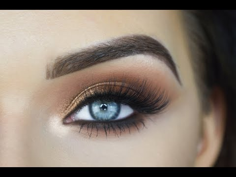 Morphe 39A Tutorial | Brown Smokey Eye