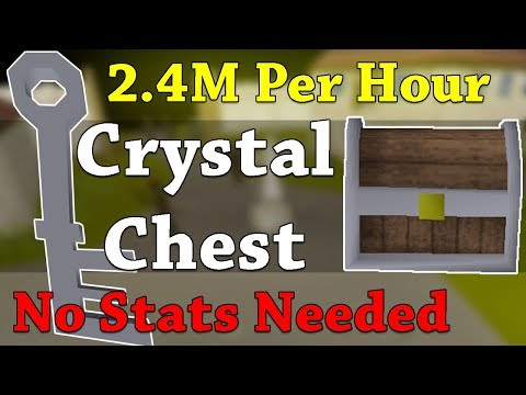 2.4M GP/HR Insane Profit With Crystal Keys And Loot From 1 Hour (800 Keys)