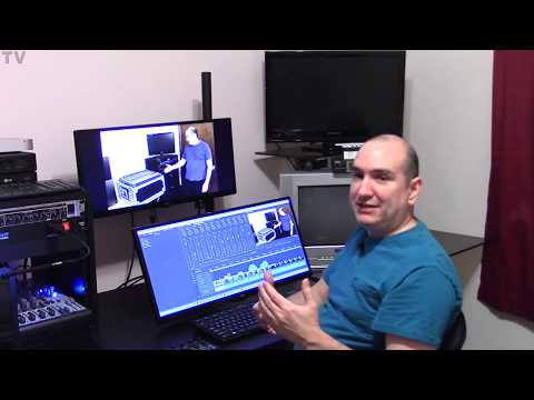 touchscreen for audio and video editing