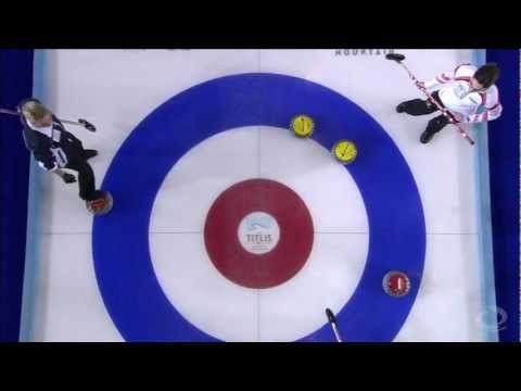 CURLING: WWCC 2013 Semifinal SCO vs CAN - HIGHLIGHTS