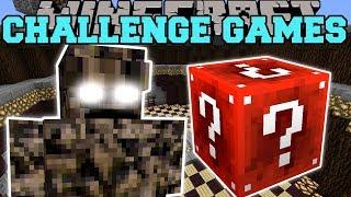 Minecraft: ROCK MONSTER CHALLENGE GAMES - Lucky Block Mod - Modded Mini-Game