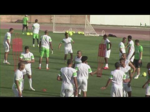Algeria prepare for Mali qualifier