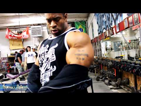 Becoming The Protege - Ronnie Coleman Athlete Cory Mathews Road To The Arnold video