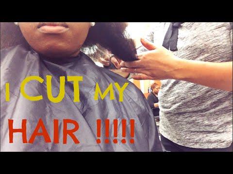 I CUT MY NATURAL HAIR !