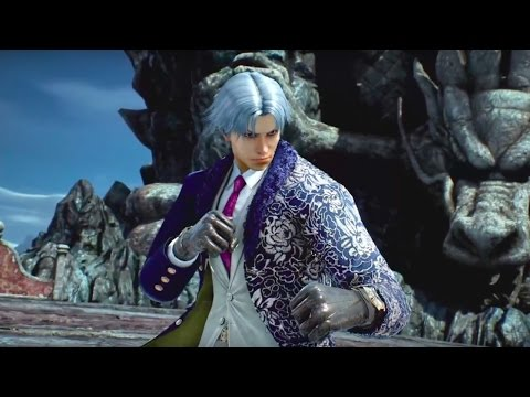 Tekken 7 Official Lee Chaolan/Violet Reveal Trailer - Gamescom 2016