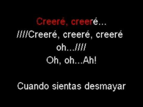 Karaoke Creeré Tercer Cielo video